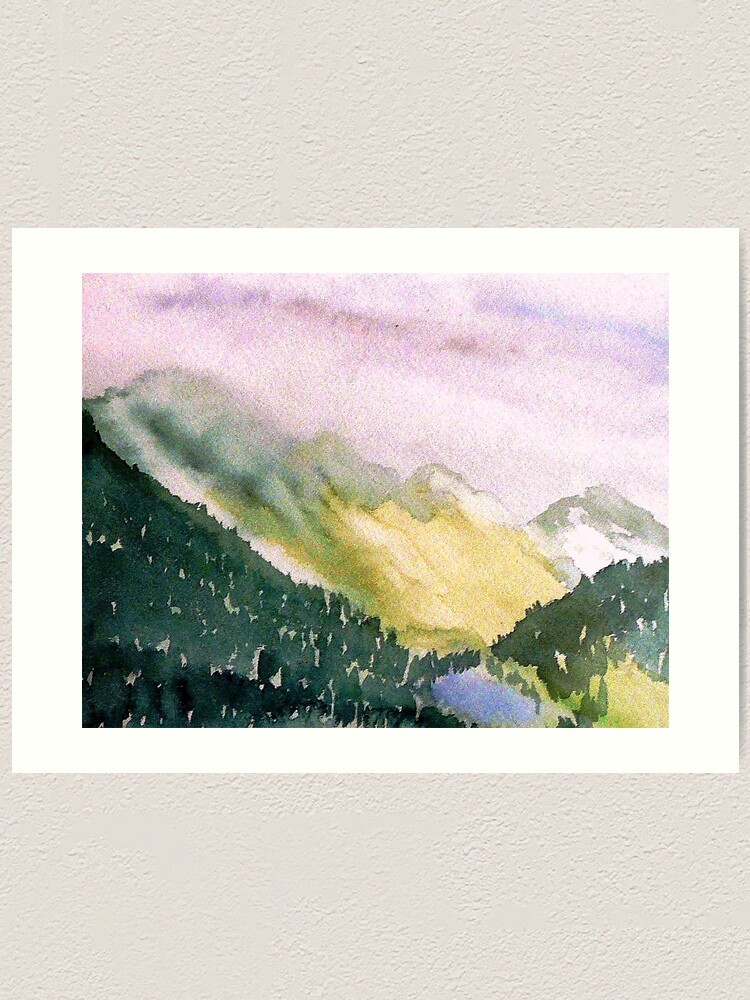 Alternate view of Olympic National Park Art Print