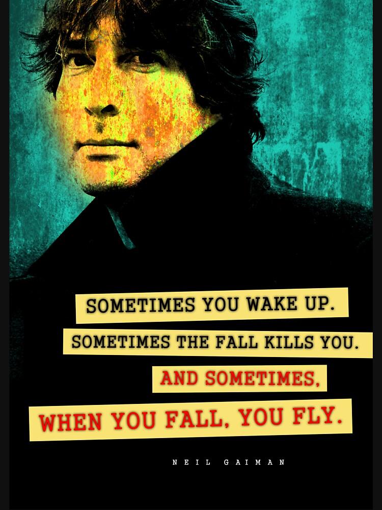 Neil Gaiman Quote by pahleeloola