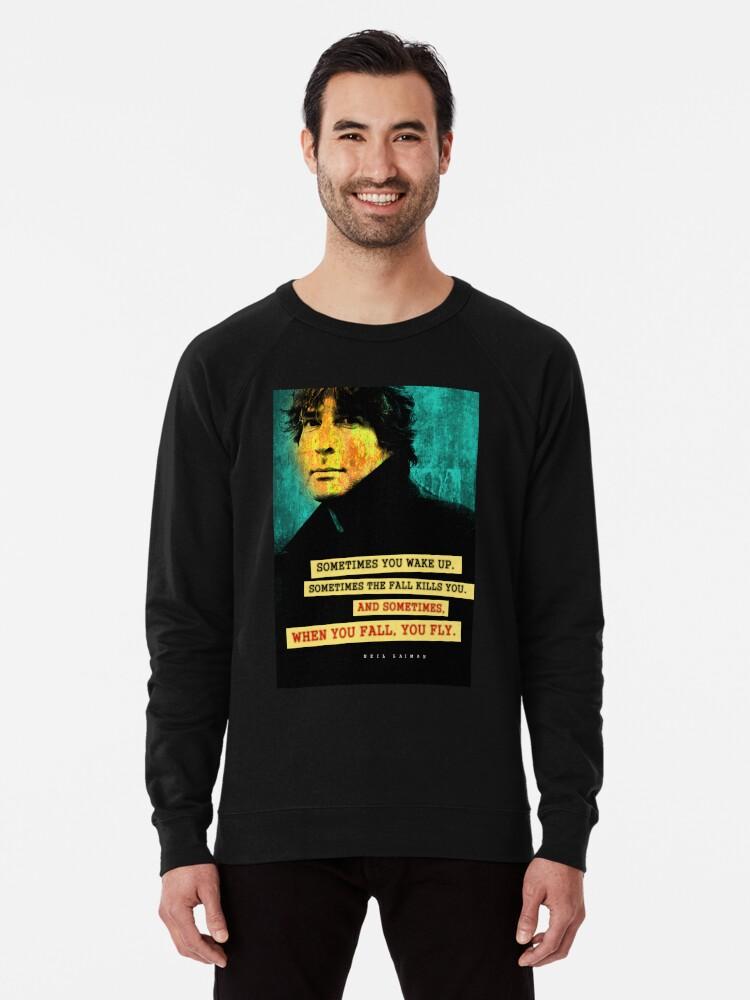 Alternate view of Neil Gaiman Quote Lightweight Sweatshirt