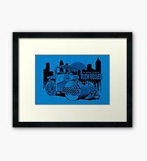 Rick Rolled Framed Print