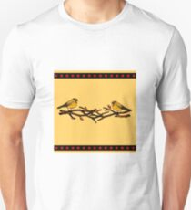 Birds on Twigs, Autumn T-Shirt