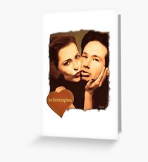 Gillian and David - The Schmoopies Greeting Card