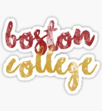 Boston College 2 Sticker