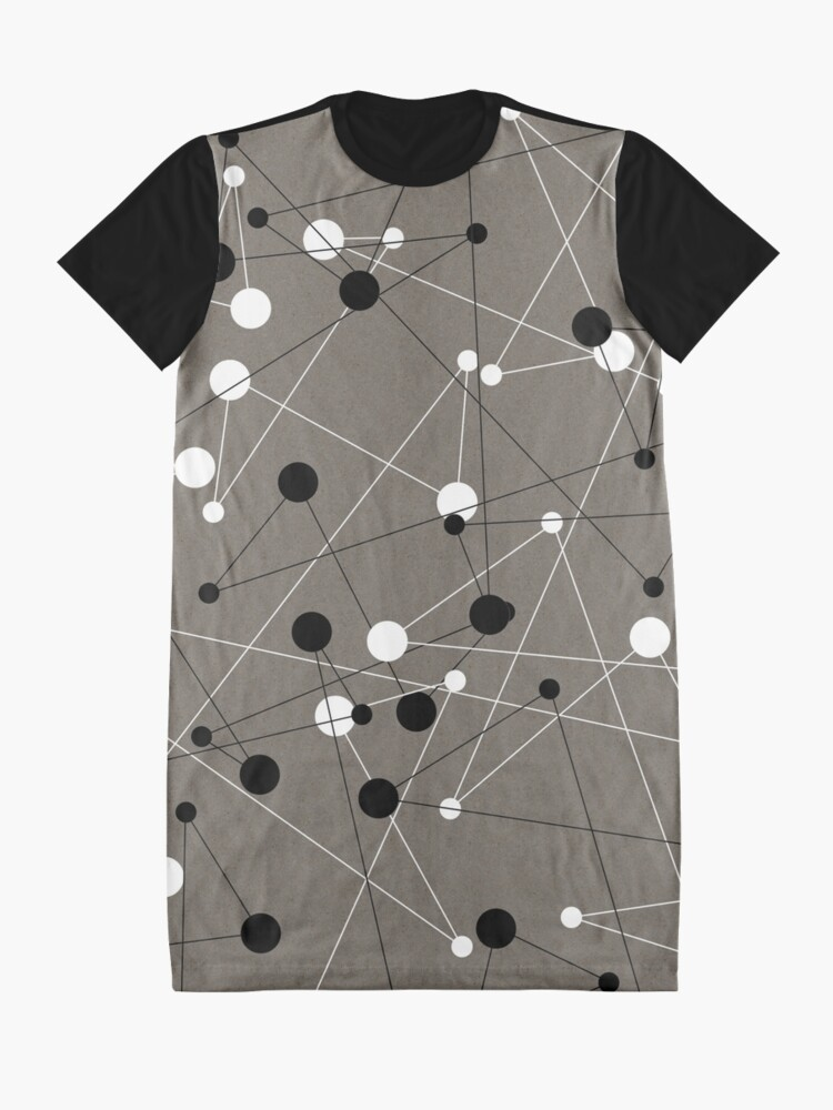 Alternate view of Complex Graphic T-Shirt Dress