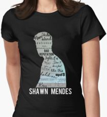Shawn Mendes - Illuminate Women's Fitted T-Shirt
