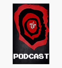 One Up Gaming Podcast Logo Photographic Print