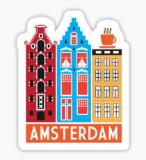 Amsterdam! Sticker