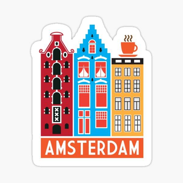 Amsterdam! Sticker