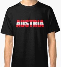 Austria Osterreich Flag  Classic T-Shirt