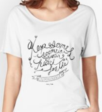 Keep some room in your heart for the unimagineable Women's Relaxed Fit T-Shirt