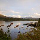 Portree Isle of Skye by Louise Fahy