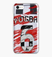 Paul Pogba Juventus to Manchester United iPhone Case/Skin
