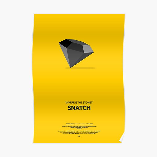 Affiche de film Snatch Poster