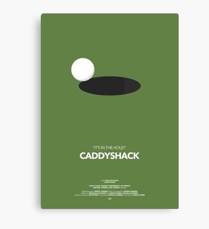 Caddyshack Movie Poster Canvas Print