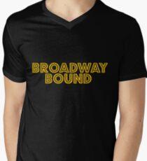 Broadway Bound Men's V-Neck T-Shirt