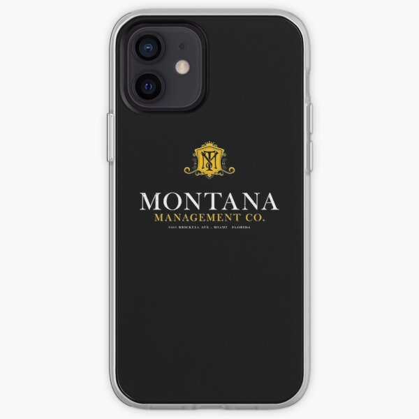 Montana Management Co (aged look) iPhone Soft Case