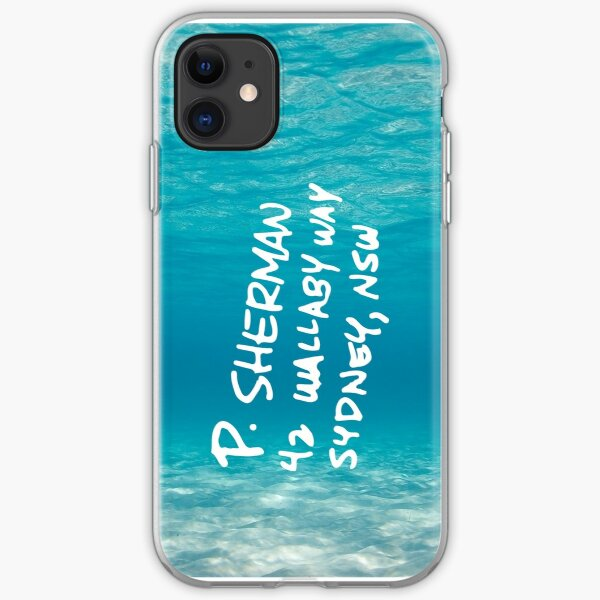 P. Sherman, 42 Wallaby Way, Sydney - Finding Nemo! iPhone Soft Case