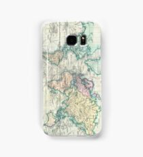 Vintage Map of The World (1801) Samsung Galaxy Case/Skin