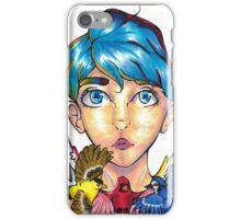 Primary Colors - Bird Girl iPhone Case/Skin