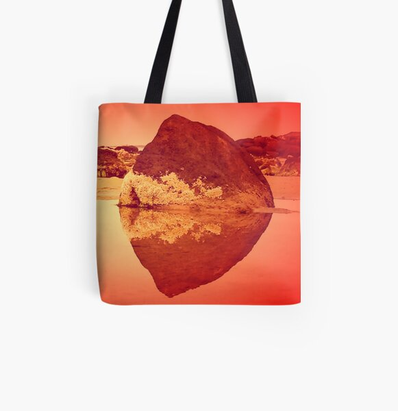 bayside heart All Over Print Tote Bag
