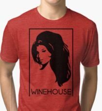 retrato de amy winehouse Tri-blend T-Shirt