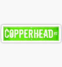Copperhead Road Sticker