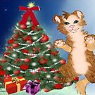 Kitty is set for Christmas ( 583 Views) by aldona