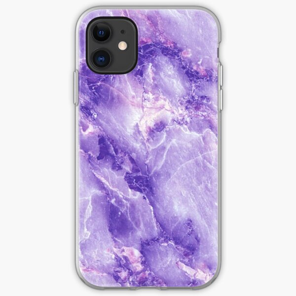 MARBLE - PURPLE [iPhone Case] iPhone Soft Case
