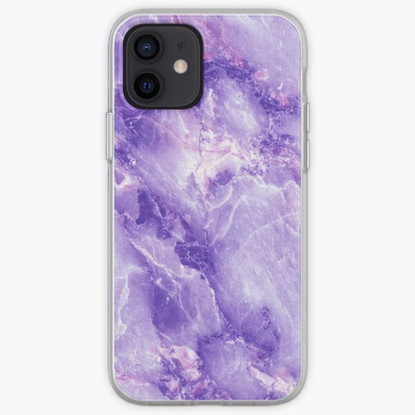 MARBLE - PURPLE [iPhone Case] iPhone Soft Case