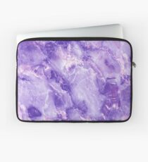 MARBLE - PURPLE [iPhone Case] Laptop Sleeve