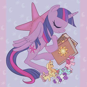 Sleepy Ponies - Twilight Sparkle by Gabihime
