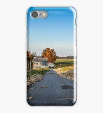Schoolhouse Road iPhone Case/Skin