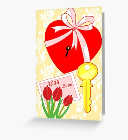 A key to all that your heart desires (1393 Views) Greeting Card