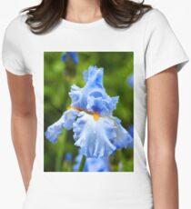 Blue Iris Women's Fitted T-Shirt