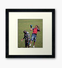 I haven't got  the ball? Framed Print
