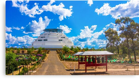 The Great Stupa of Universal Compassion - Marong, Victoria by sjphotocomau
