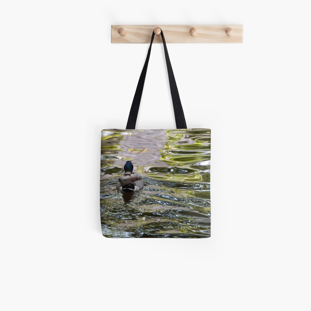 Meandering through the ripples, Bolzano/Bozen, Italy Tote Bag