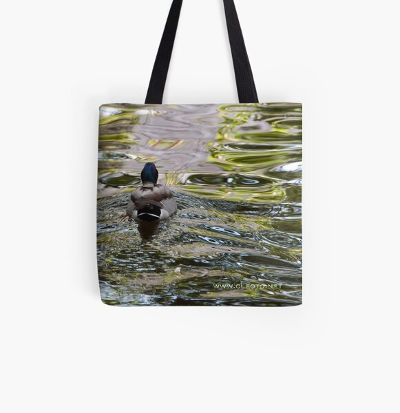 Meandering through the ripples, Bolzano/Bozen, Italy All Over Print Tote Bag