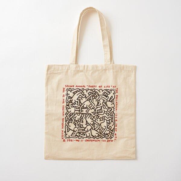 haring pop art Cotton Tote Bag