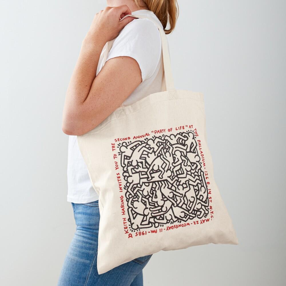 haring pop art Tote Bag