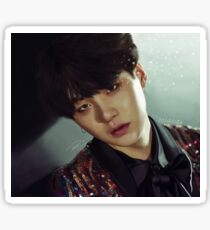 Yoongi Sequins Sticker