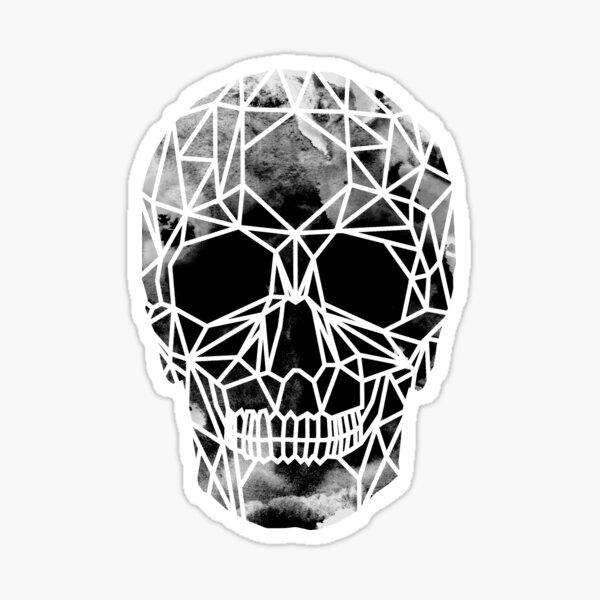 Crystal Skull Infrared Sticker