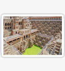 Chand Baori - Stepwell - Abhaneri - Rajasthan - India Sticker