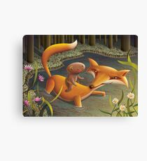 The Gingerbread Man Canvas Print