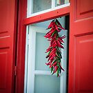 Peppers at the window by Riko2us