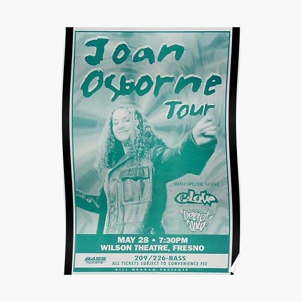 Joan Osborne Poster Poster