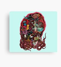 The Octopus Project: Squidtastic Canvas Print