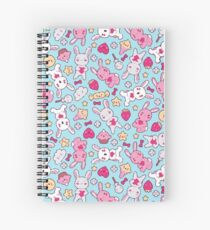 Cute Bunnies Spiral Notebook