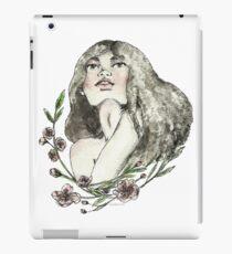 Floral Ink iPad Case/Skin