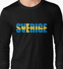 Sweden Sverige Flag  T-Shirt
